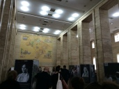Photo installation in Sao Paulo city hall on Bracos Abertos program